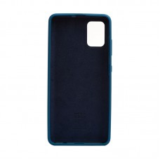 """Силиконовый чехол """"COVER TPU CASE"""" для Samsung Galaxy A31, космический синий"""