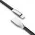 lightning USB кабель hoco серии X4 для apple черный