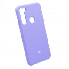 Чехол бампер Silicone Case для Xiaomi Redmi Note 8T (фиалковый)