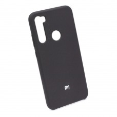 Чехол бампер Silicone Case для Xiaomi Redmi Note 8T (черный)