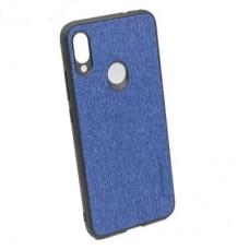 Чехол бампер Textile Experts для Xiaomi Redmi Note 7 синий