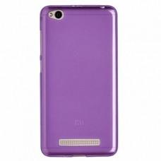 Силиконовый чехол Experts для Xiaomi Redmi 4A, фиолетовый