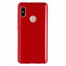 """Силиконовый чехол EXPERTS """"DIAMOND TPU CASE"""" для Xiaomi Redmi Note 5 / Note 5 Pro, красный"""
