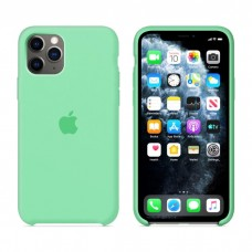 Чехол Silicone Case для iPhone 11 (Spear Mint)