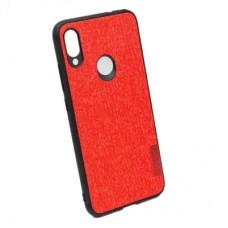 Чехол бампер Textile Experts для Xiaomi Redmi Note 7 красный