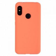 """Силиконовый чехол EXPERTS """"SOFT TOUCH"""" для Xiaomi Mi A2 Lite / Redmi 6 Pro розовый"""