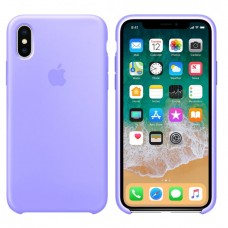 Чехол бампер Silicone Case для iPhone XR (Violet)