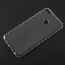 Силиконовый чехол EXPERTS для Huawei P Smart / Enjoy 7S, прозрачный