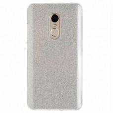 "Силиконовый чехол EXPERTS ""DIAMOND TPU CASE"" для Xiaomi Redmi Note 4 ,серебро"