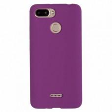 """Силиконовый чехол EXPERTS """"SOFT TOUCH"""" для Xiaomi Redmi 6 фиолетовый"""