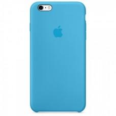 Бампер Silicone Case для iPhone 6 / 6s голубой