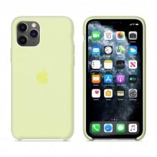 Чехол Silicone Case для iPhone 11 (Mellow Yellow)