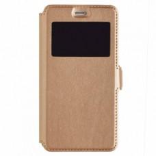 Чехол-книга Experts BOOK Slim case для Xiaomi Redmi 4A, золотой