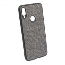 Чехол бампер Textile Experts для Xiaomi Redmi Note 7 серый