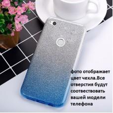 """Силиконовый чехол EXPERTS """"BRILLIANCE TPU CASE"""" для Huawei P Smart / Enjoy 7S, голубой"""