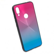 Чехол для Xiaomi Redmi 7 бампер EXPERTS Shiny (розовый-синий)
