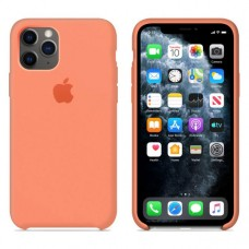 Чехол Silicone Case для iPhone 11 (Peach)