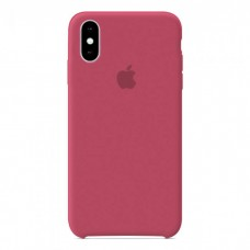 Чехол бампер Silicone Case для iPhone XR (Camelia)