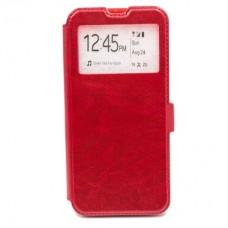 Чехол книга Experts Slim Book для Samsung Galaxy A20 / A30 (красный)