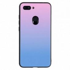 """Силиконовый чехол EXPERTS """"COLOR GLASS TPU"""" для Xiaomi Mi 8 Lite, фиолетовый"""