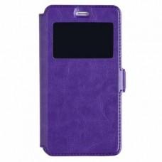 Чехол-книга Experts BOOK Slim case для Xiaomi Redmi 4A, фиолетовый