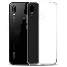 Силиконовый чехол бампер TPU для Huawei Y6 (2019), Honor 8A, прозрачный