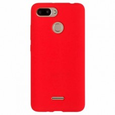 """Силиконовый чехол EXPERTS """"SOFT TOUCH"""" для Xiaomi Redmi 6 красный"""