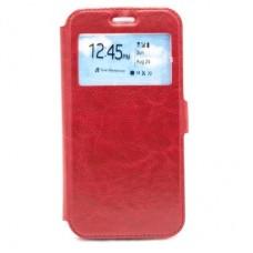 Чехол-книга Experts Book Slim case для Huawei P Smart / Enjoy 7S (FIG-LX1), красный
