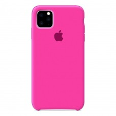 Чехол Silicone Case для iPhone 11 (Barby Pink)
