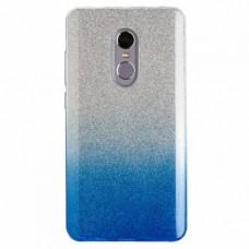 """Силиконовый чехол EXPERTS """"BRILLIANCE TPU CASE"""" для Xiaomi Redmi Note 4,голубой"""