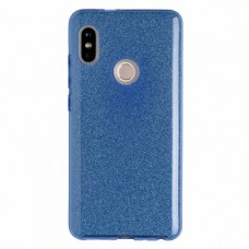 """Силиконовый чехол EXPERTS """"DIAMOND TPU CASE"""" для Xiaomi Redmi S2, голубой"""