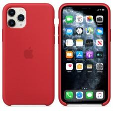 Чехол Silicone Case для iPhone 11 (Red)