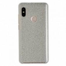"Силиконовый чехол EXPERTS ""DIAMOND TPU CASE"" для Xiaomi Redmi Note 5 / Note 5 Pro, серебро"