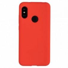 """Силиконовый чехол EXPERTS """"SOFT TOUCH"""" для Xiaomi Mi A2 Lite / Redmi 6 Pro красный"""