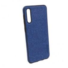 Чехол бампер Textile Experts для Samsung Galaxy A50 синий