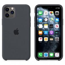 Чехол Silicone Case для iPhone 11 (Charcoal Gray)