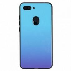 """Силиконовый чехол EXPERTS """"COLOR GLASS TPU"""" для Xiaomi Mi 8 Lite, голубой"""
