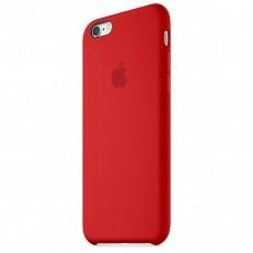 Бампер Silicone Case для iPhone 6 / 6s красный