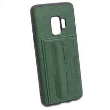 Чехол бампер KANJIAN для Samsung Galaxy S9 (зеленый)