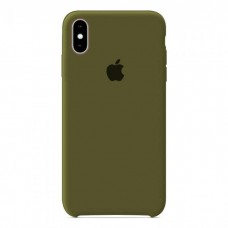 Чехол бампер Silicone Case для iPhone XR (Virid)