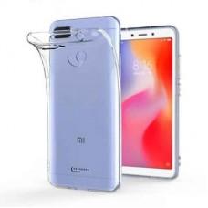 Чехол для Xiaomi Redmi 6A бампер TPU прозрачный