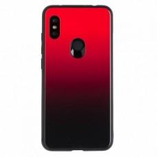 """Силиконовый чехол EXPERTS """"COLOR GLASS TPU"""" для Xiaomi Redmi Note 6/6 Pro, красный"""