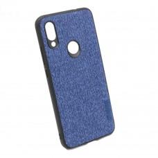 Чехол бампер Textile Experts для Xiaomi Redmi 7 синий
