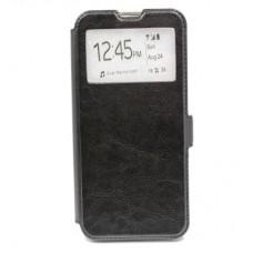 Чехол книга Experts Slim Book для Samsung Galaxy A20 / A30 (черный)