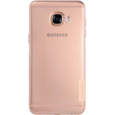 Чехол Nillkin Nature TPU для Samsung Galaxy C5 (коричневый)