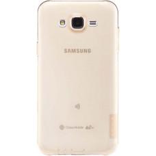 Чехол Nillkin Nature TPU для Samsung Galaxy J5 (золотистый)