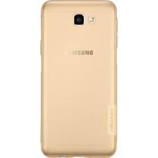 Чехол Nillkin Nature TPU для Samsung Galaxy J7 Prime (коричневый)