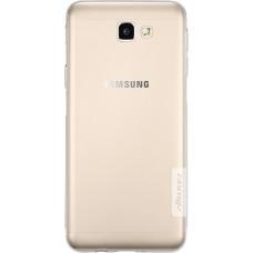 Чехол Nillkin Nature TPU для Samsung Galaxy J7 Prime (прозрачный)