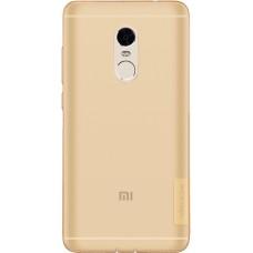 Чехол Nillkin Nature TPU для Xiaomi Redmi Note 4 (коричневый)