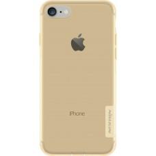 Чехол Nillkin Nature TPU для iPhone 7/8 (золото)